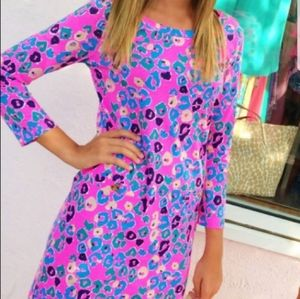 New Lilly Pulitzer Paws Off Corine T-shirt Dress